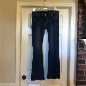 Express jeans Stella LowRise 10r